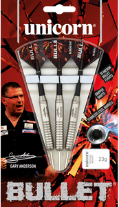 Unicorn - Bullet Stainless Steel - Gary Anderson - Triple DDD Sports Ltd