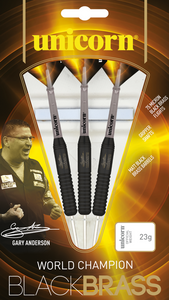 Unicorn - Black Brass - Gary Anderson - Triple DDD Sports Ltd