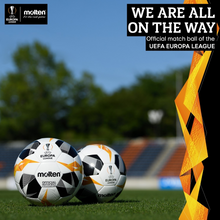 Load image into Gallery viewer, Molten - UEFA Europa League Official Replica Football 1000 (Silver) - Triple DDD Sports Ltd