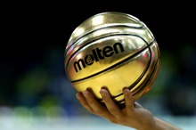 Load image into Gallery viewer, Molten - Gold Presentation Basketball - Triple DDD Sports Ltd