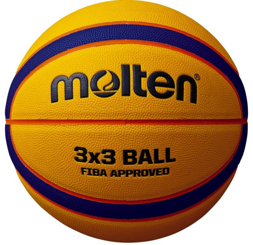 Molten - 3X3 Official Match Basketball - Triple DDD Sports Ltd