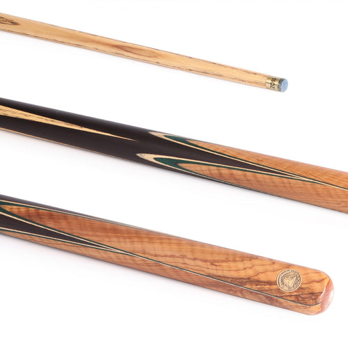 PowerGlide Vanquish Snooker 2-Piece Cue with 9.5mm Tip - Triple DDD Sports Ltd