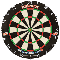Unicorn - Eclipse HD2 Pro Edition PDC Dartboard - With Unilock - Triple DDD Sports Ltd