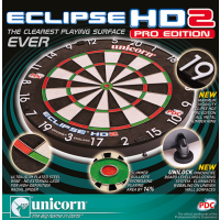 Load image into Gallery viewer, Unicorn - Eclipse HD2 Pro Edition PDC Dartboard - With Unilock - Triple DDD Sports Ltd