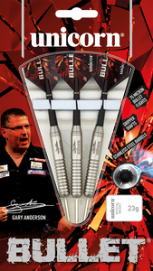 BULLET STAINLESS STEEL - GARY ANDERSON - Triple DDD Sports Ltd