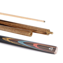 Load image into Gallery viewer, Calibre Snooker Cue 50/50 Split 10mm Tip - Triple DDD Sports Ltd