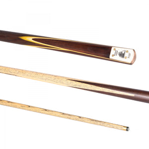 PRISM SNOOKER CUE 50/50 SPLIT 9.5MM TIP - Triple DDD Sports Ltd