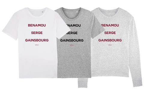 BENAMOU Sweat gris