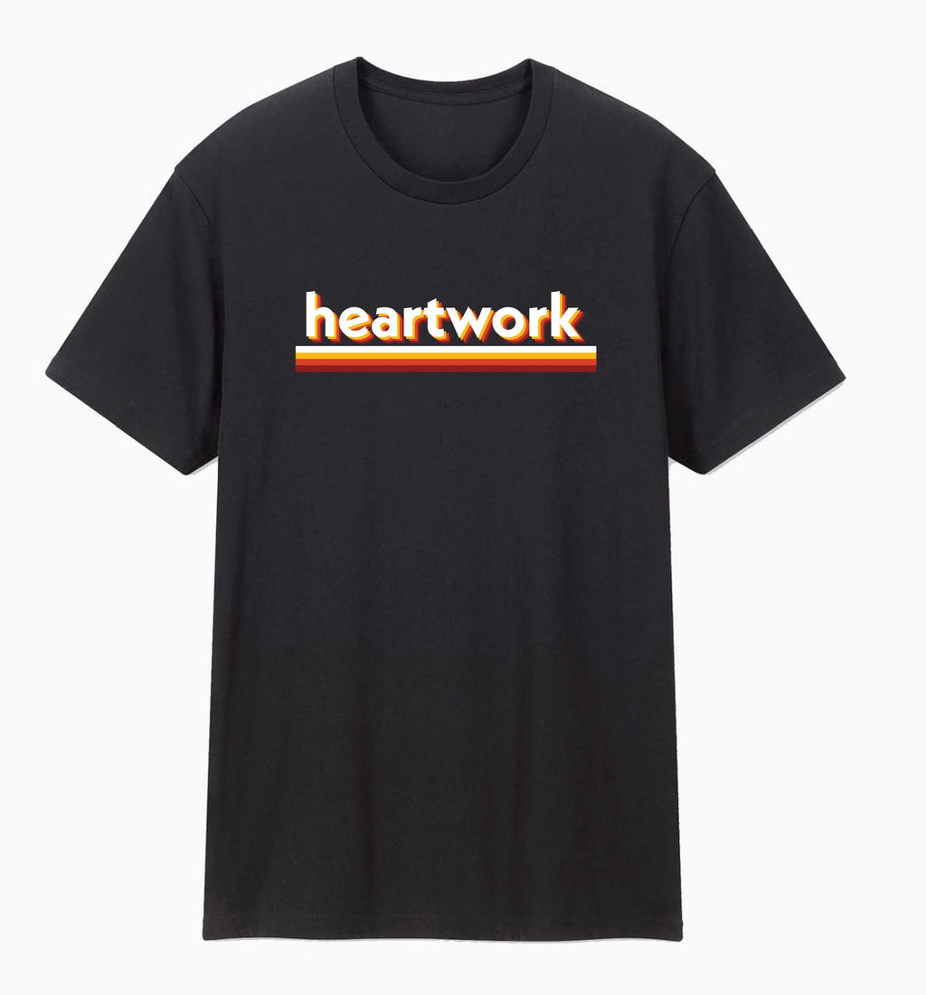 "Heartwork ""Retro"" T Shirt"
