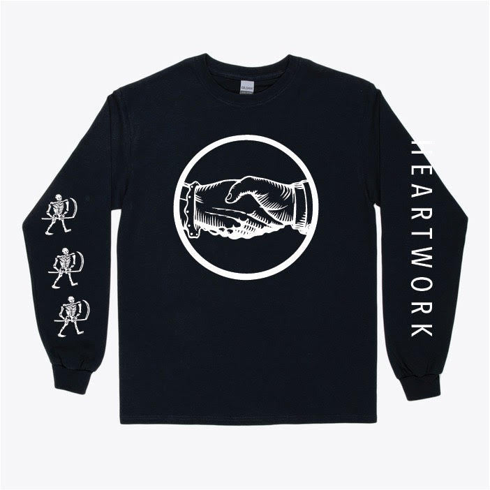 "Heartwork ""Skeleton"" Long Sleeve T Shirt"