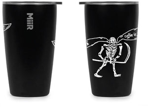 "12 oz MiiR Tumbler ""Coffee is for the Living"""