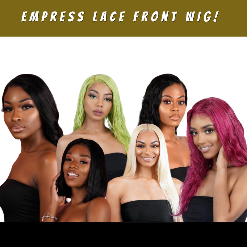 How to properly install an Empress Lace Front Wig!