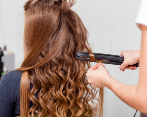 heat styling your hair extensions