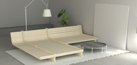 Bed Frame Kit By the Piece