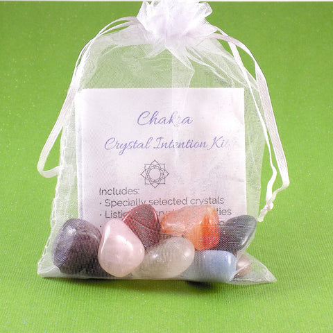 Chakra Crystal Intention Kit