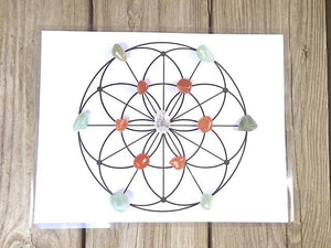 Crystal Kits for Course - Crystal Grids: Enhance, Manifest, Transform