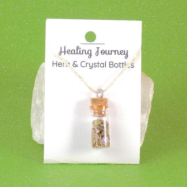 Healing Journey Herb Crystal Bottle
