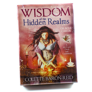 Wisdom of the Hidden Realms Oracle Card Deck Amanda McElhaney