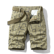Load image into Gallery viewer, Luulla Men's Summer New Classic Vintage Camouflage Cotton Cargo Shorts Men Military Casual Fashion Loose Fit Cargo Shorts Men