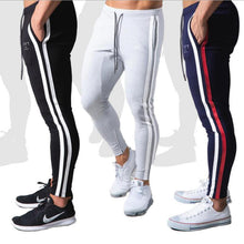 Load image into Gallery viewer, Men Pants Fitness Casual Elastic Pants men Bodybuilding Clothing Casual Navy Military Sweatpants Joggers Pants 20CK21