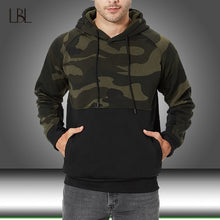 Load image into Gallery viewer, 2020 New Men's Hoodies Autumn Sportswear Long Sleeve Camouflage Hooded Shirt Mens Brand Clothing Male Casual Pullover Sweatshirt
