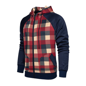 Winter Hoodie Men's Cardigan Hooded Sweatshirts