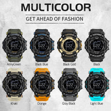 Load image into Gallery viewer, Mens Watch Military Waterproof Sport Wrist Watch Digital Stopwatches