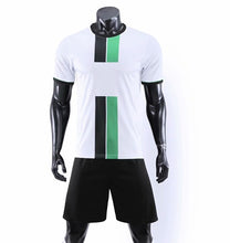 Load image into Gallery viewer, ZMSM Kids Adult Soccer Jersey Set Survetement Football Kit Men Child Football Training Uniform Vertical Stripes Tracksuit DN8103