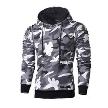 Load image into Gallery viewer, NaranjaSabor Men's Hoodies Autumn Sportswear Long Sleeve Camouflage Hooded Shirt Mens Brand Clothing Male Casual Sweatshirt N540