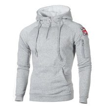 Load image into Gallery viewer, NaranjaSabor Men's Zipper Hoodies Casual Sweatshirt Mens Autumn Fasion Hooded Thick Hoodies Hip Hop Male Brand Clothing N624