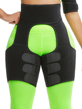 Load image into Gallery viewer, Black Neoprene Thigh Shaper Sticker High Waist Smooth Silhouette - FIVE TIGERS