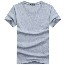 Load image into Gallery viewer, Casual Plain Solid Color Men's T-shirts - FIVE TIGERS