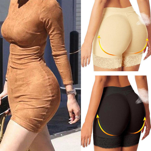 Butt Lifter Shape Wear Women Pants Booty Enhancer Padded butt lifter designed, boyshorts pads are quality, showing you a sexy hourglass curves instantly. - FIVE TIGERS