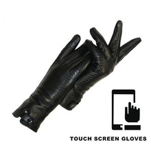 Load image into Gallery viewer, New Women's Gloves Genuine Leather Winter Warm Fluff Woman Soft - FIVE TIGERS