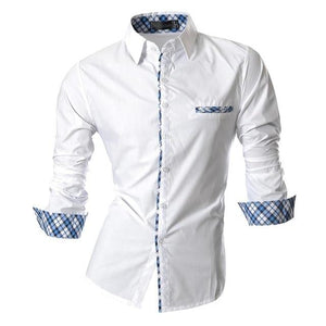 Men's Casual Dress Shirts Fashion - FIVE TIGERS