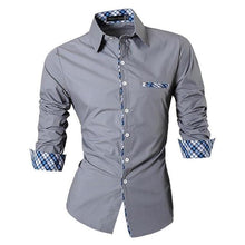 Load image into Gallery viewer, Men's Casual Dress Shirts Fashion - FIVE TIGERS