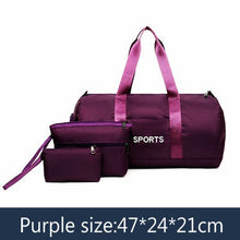 Load image into Gallery viewer, Sports Women Gym Bags set - FIVE TIGERS