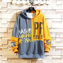 Load image into Gallery viewer, Casual Spring Autumn Print Hoodie Sweatshirt Men - FIVE TIGERS