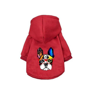 Winter Warm Dog Clothes Cotton Hoodies pets - FIVE TIGERS