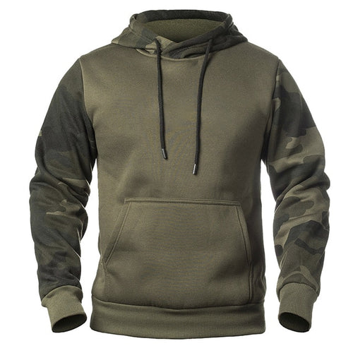 Men Military Camouflage Hoodies Autumn Winter Hooded Sweatshirts