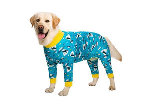 Medium Large Dogs Pajamas For Pet Dogs Clothes - FIVE TIGERS
