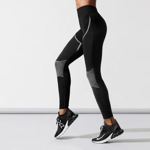 Casual Autumn Style Ladies Workout Fitness Leggings - FIVE TIGERS