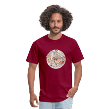 Load image into Gallery viewer, Men's T-Shirt - burgundy