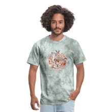 Load image into Gallery viewer, Men's T-Shirt - military green tie dye