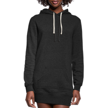Load image into Gallery viewer, Women's Hoodie Dress - heather black