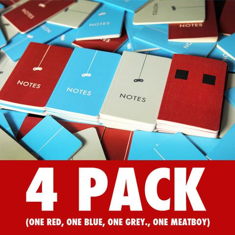 Indie Game: The Movie -  Notebooks: 4 Pack