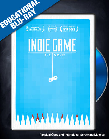 Indie Game: The Movie Educational Blu-Ray Copy