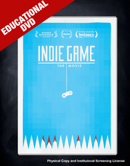 Indie Game: The Movie Educational DVD Edition