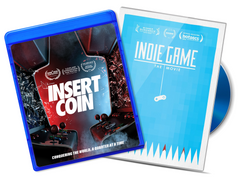 INDIE GAME / INSERT COIN BluRay Bundle