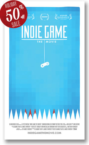 Indie Game: The Movie Poster (original)